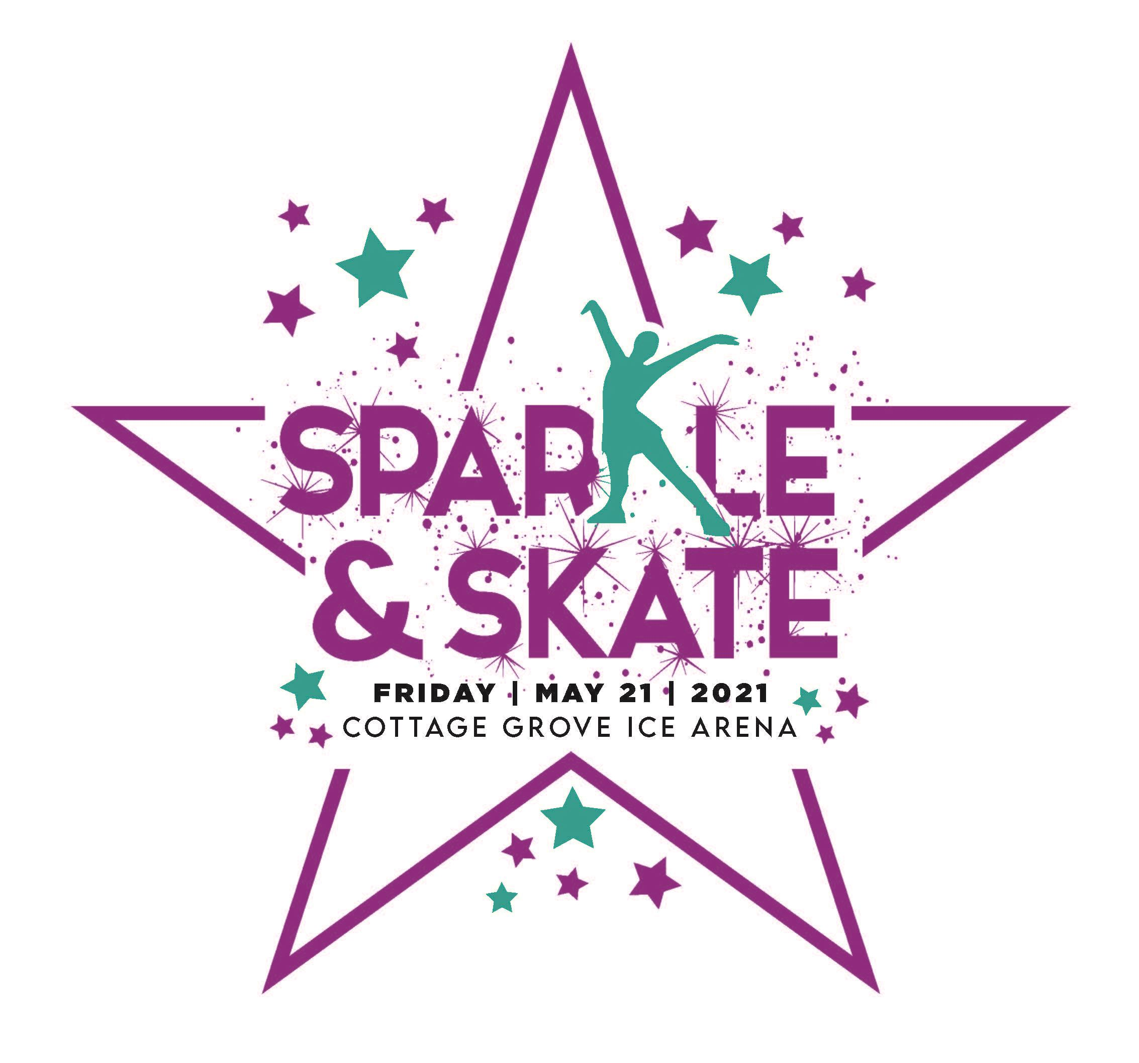 Sparkle and skate